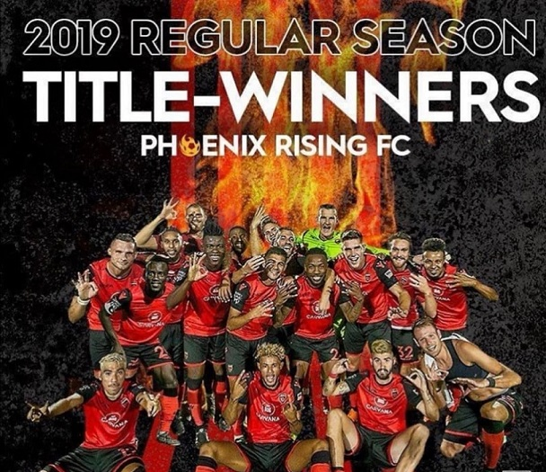 Dumbuya's Rising crowned USL regular-season Champions