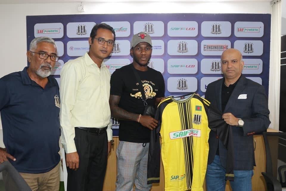 Saif Sporting Club sign Sierra Leone's Fayia Kobba