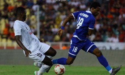 Striker Sheka Fofanah brace rescues point for Al-Minaa