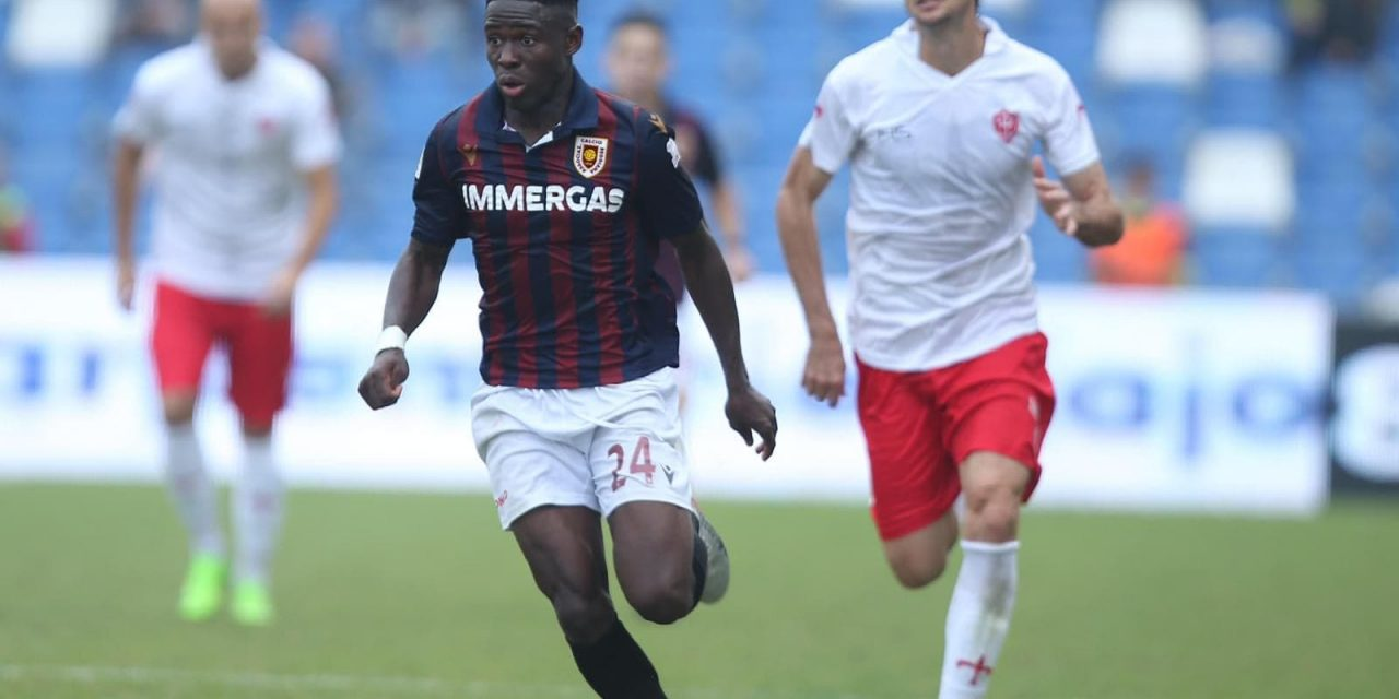 Attacker Augustus Kargbo earns spot in Serie C Team of the Week