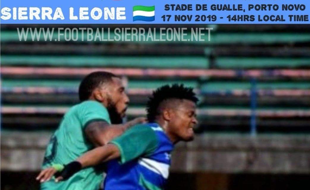 Matchday Two News In Brief: Sierra Leone v Benin