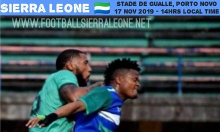 Matchday Two News In Brief: Sierra Leone v Benin