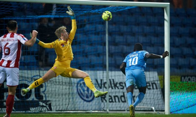 Kamara nets for Randers in six-goal thriller at Cepheus Park