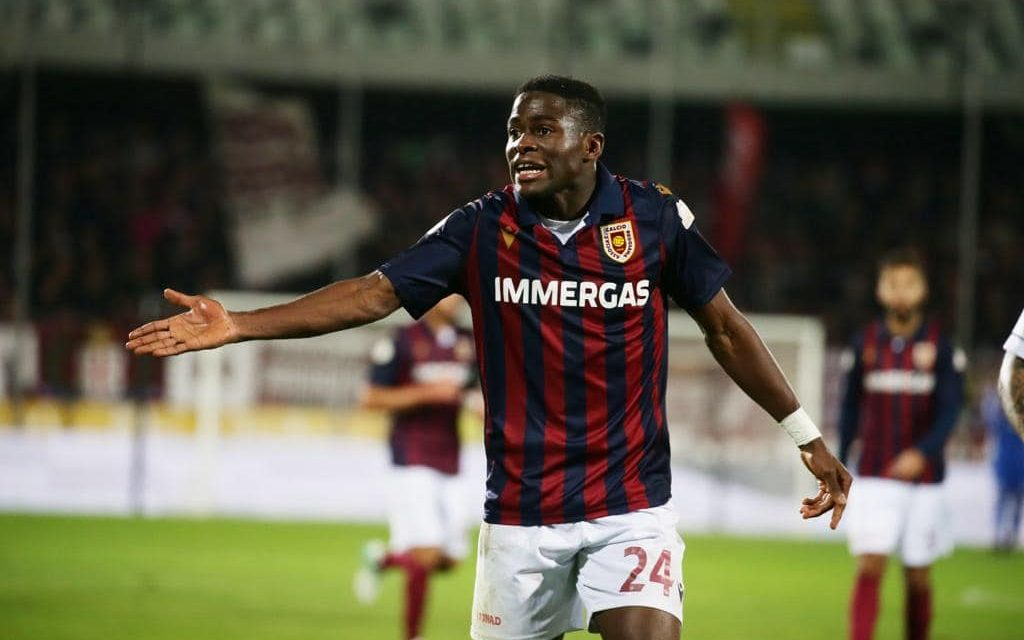 Reggio Audace attacker Kargbo happy and hungry for more