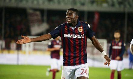 Reggio Audace attacker Kargbo happy and hungry for more