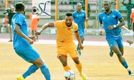 Sierra Leone down to 118th in latest Fifa ranking