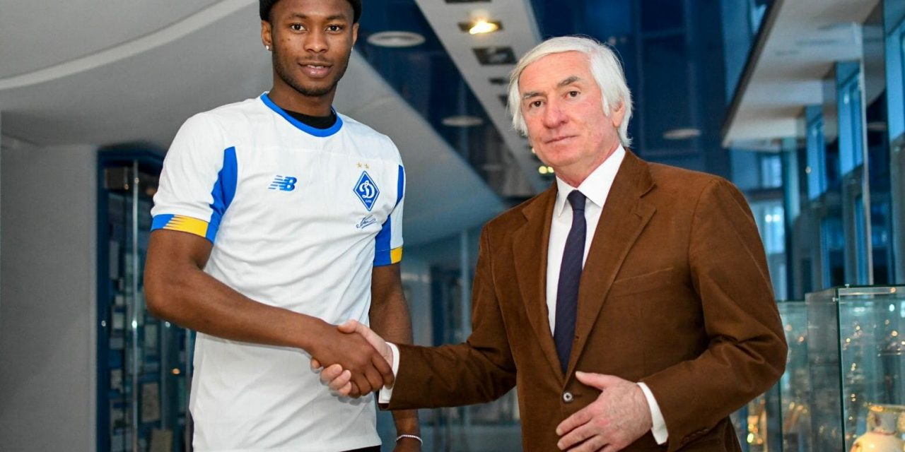 Breaking: Kargbo 'delighted' at son's Dynamo Kyiv opportunity