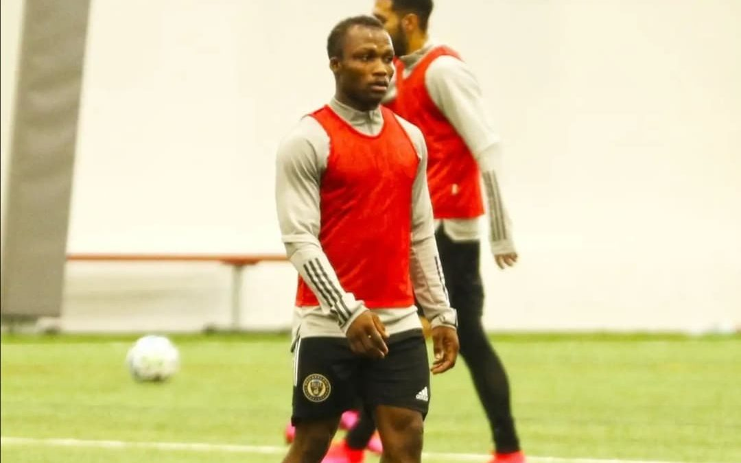 Sierra Leone midfielder Conteh trains with MLS club