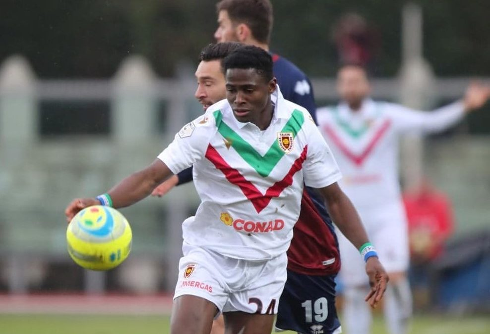 Kargbo nets seventh league goal in Reggio Audace win