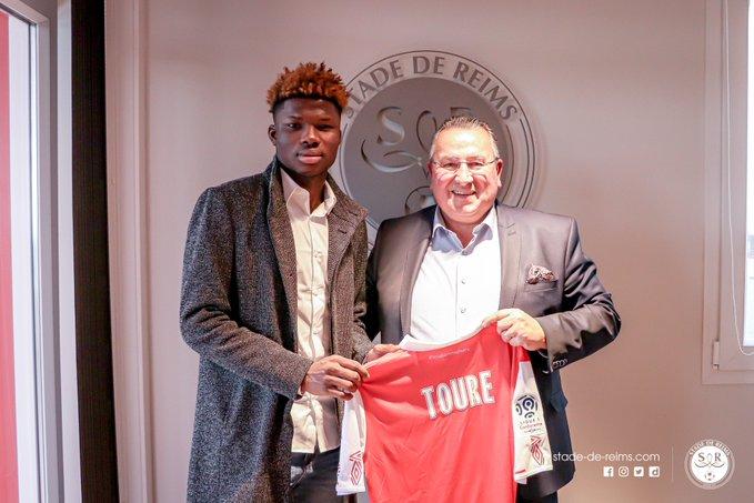 Promising Malian striker El Bilal Touré joinsStade de Reims