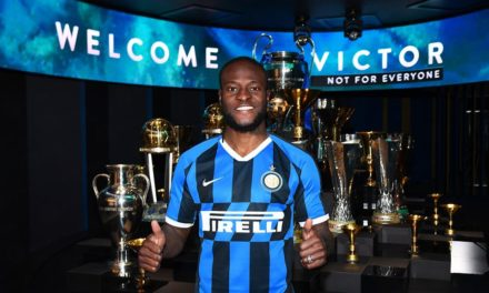 Nigerian Victor Moses delighted after joining Inter Milan