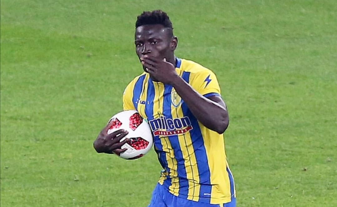 Striker Alhassan Kamara returns to Sweden