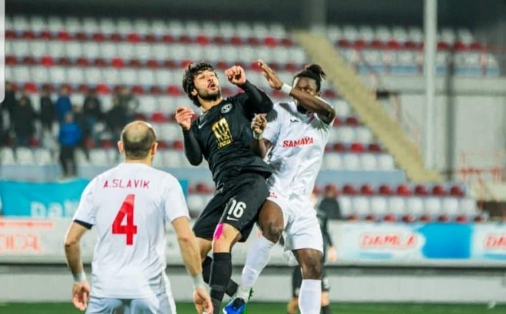 Sierra Leone midfielder Kamara named in AzPFL Topaz week 18 Best XI