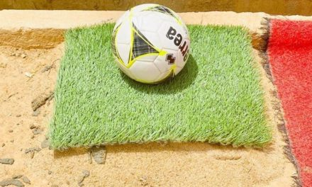 Kenema Artificial turf to be ready in three months