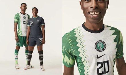 Nike unveil Nigeria new kit ahead of Sierra Leone doubleheader