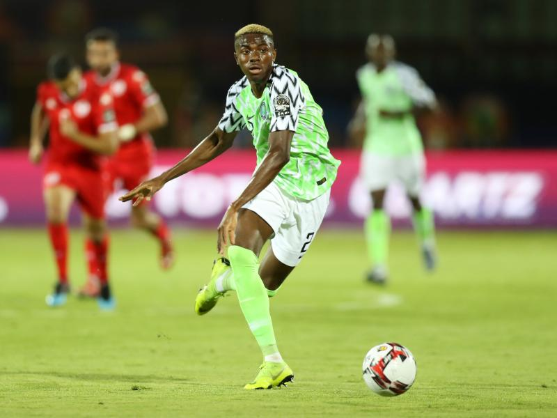 Victor Osimhen injury scare for Nigeria