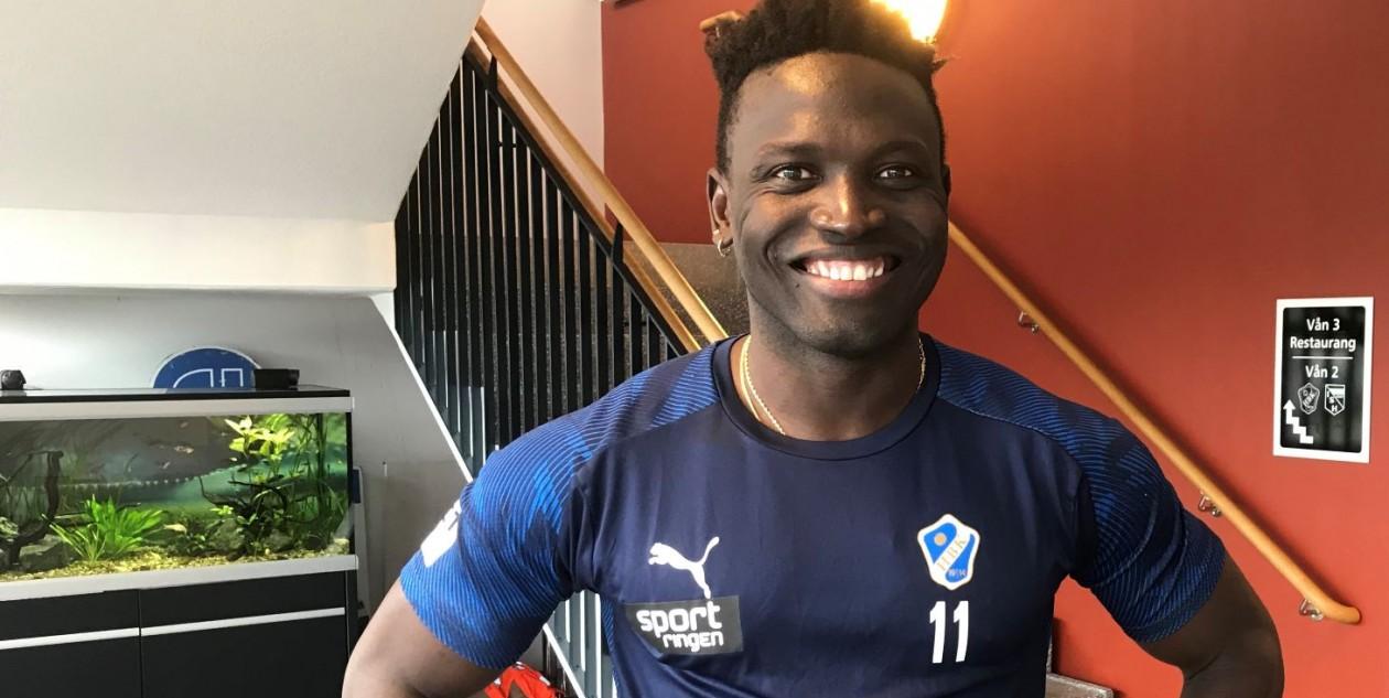 Alhassan Kamara joins Swedish superettan side Halmstad BK