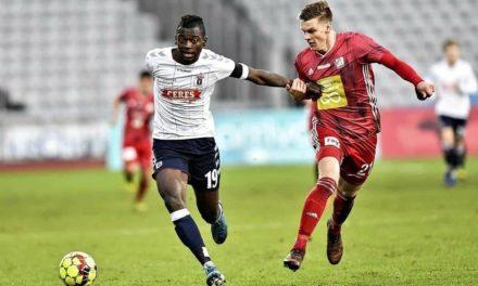 Striker Bundu nets brace in Danish Cup quarter-final tie