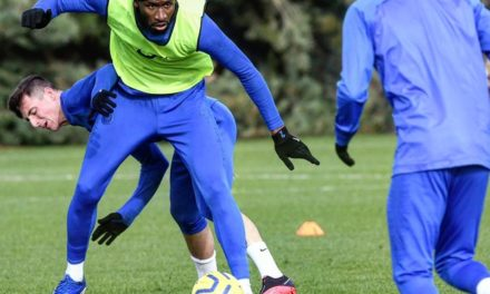 Rudiger to aid market traders with face masks in Sierra Leone