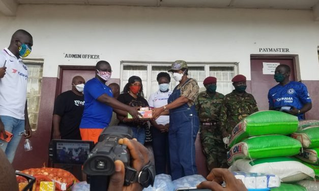 Chelsea fan club Sierra Leone donates to 34 Military hospital