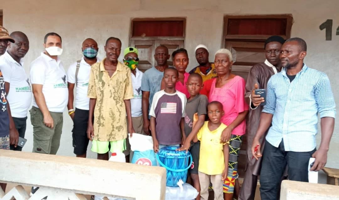 Kamboi Eagles Ex-players Association embarks on humanitarian gesture