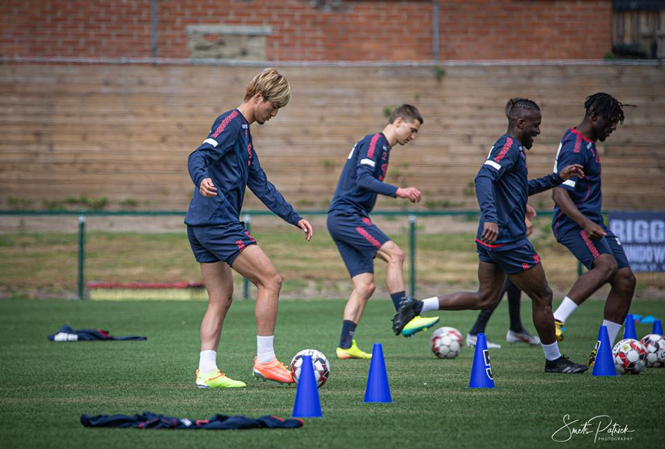 Mohamed Buya Turay returns to Sint-Truidense training