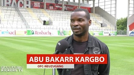 Kickers Offenbach sign former German U-19 striker Kargbo