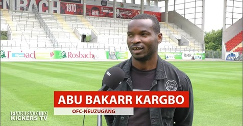 Kickers Offenbach sign former German U-19 striker Kargbo