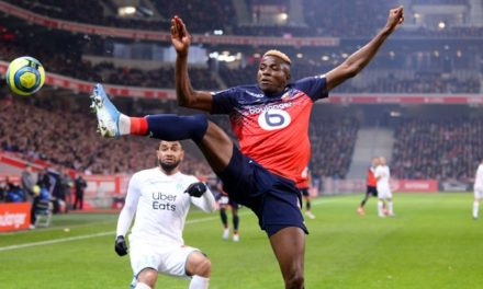 Nigeria's Victor Osimhen named Lille Player of the season
