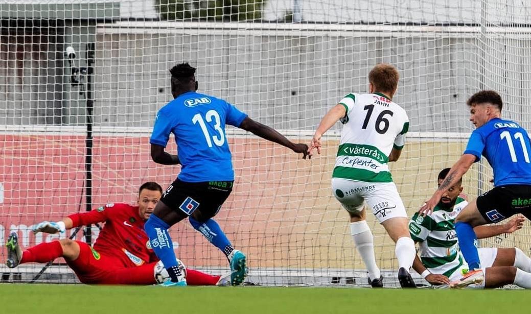 Alhassan Kamara nets Halmstads winner after 19-months out injured
