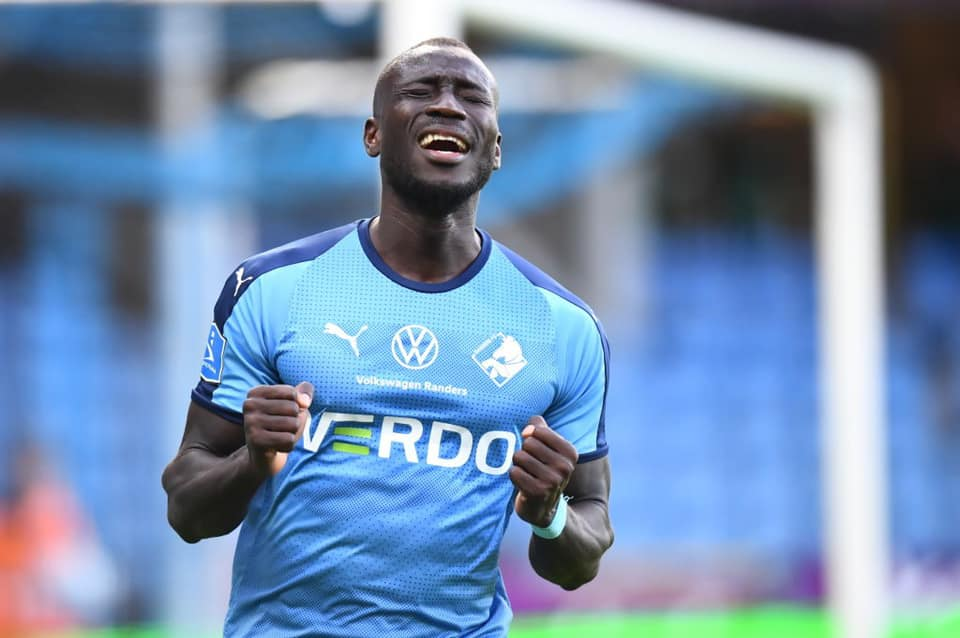 Kamara nets in Randers win over Odense in Europa race