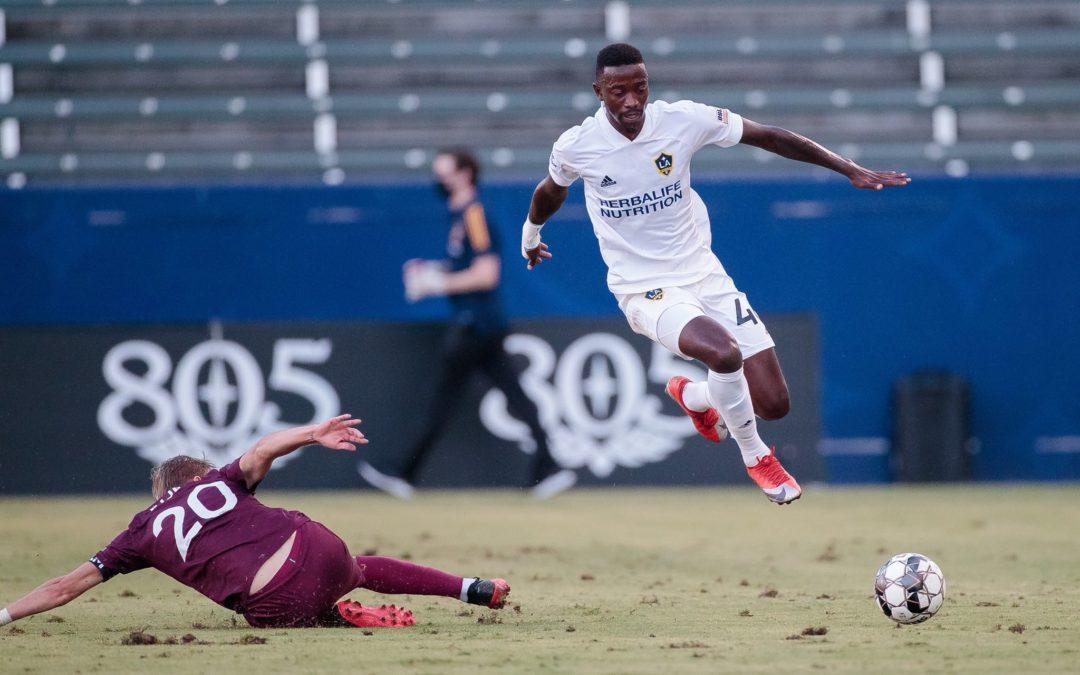 LA Galaxy II striker Williams aiming to keep scoring momentum