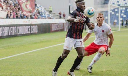 Striker Augustus Kargbo returns to start Serie A journey with Crotone