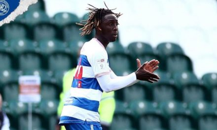 Osman Kakay bags first QPR's goal in defeat at Plymouth