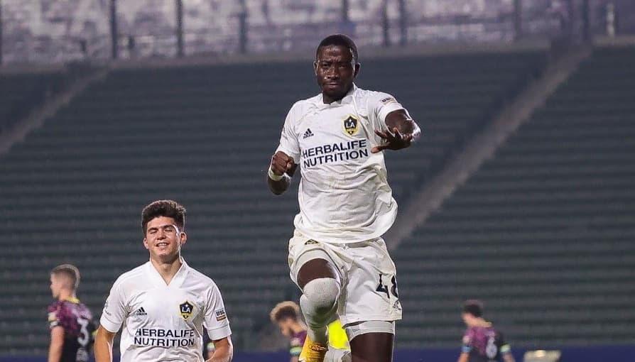 LA Galaxy II striker Williams targets double figures