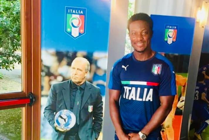 Mohamed Kallon completes UEFA Pro Licence in Italy