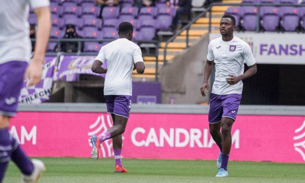 Mustapha Bundu makes first Anderlecht start