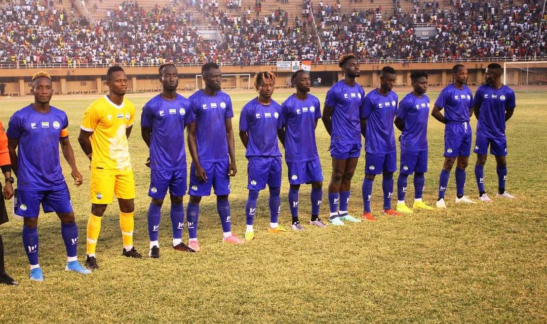 Sierra Leone suffer second straight friendly defeat