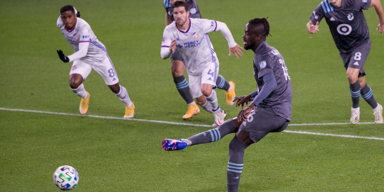 Recap: Kei Kamara on target as Minnesota down Cincinnati