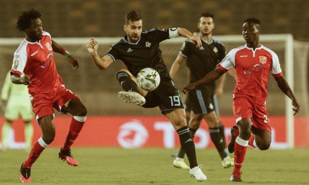 Pyramids' book CAF Confed Cup final spot after late goals