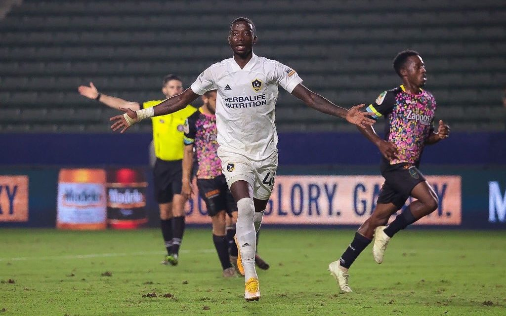Williams takes tally to 12 as LA Galaxy II book playoff spot