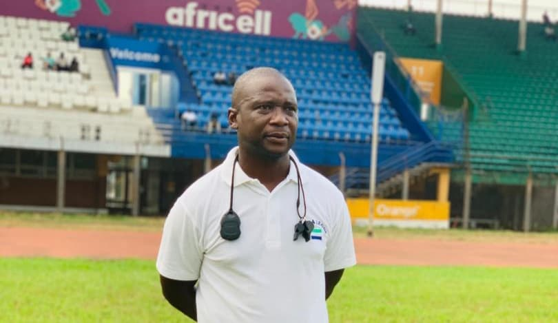 Sierra Leone Coach John Keister calls for a positive approach