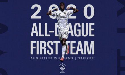 Augustine Williams makes USL Championship's team of the season