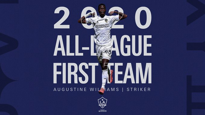 Augustine Williams makes USL Championship's team of the season