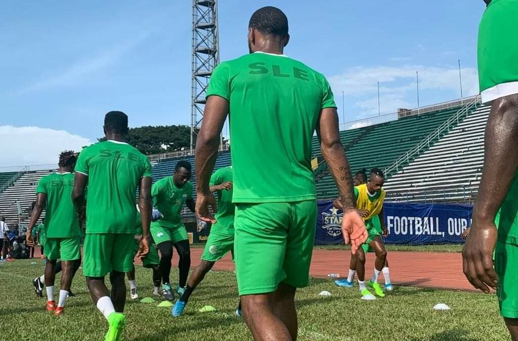 Covid-19 tests for Leone Stars Players ahead of Nigeria tie