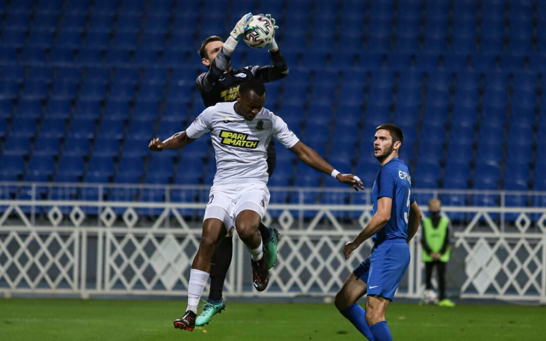 Striker Kargbo scores first Donetsk's goal to rescue point