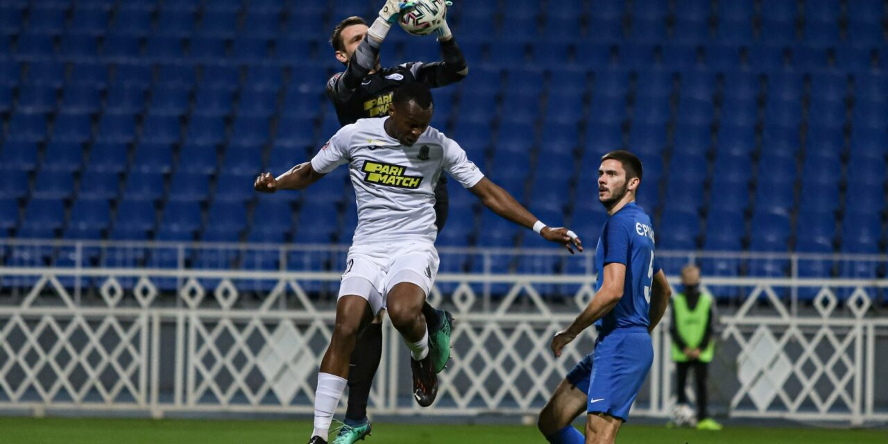 Striker Kargbo scores first Donetsk's goal to rescue point