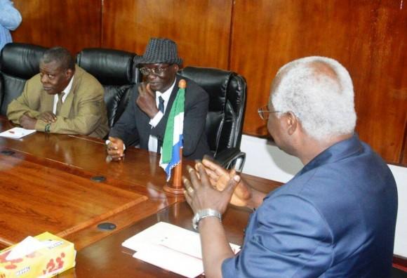 President Koroma rescues Sierra Leone from Fifa ban