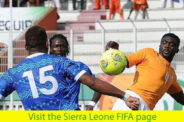 Sierra Leone football official FIFA Page