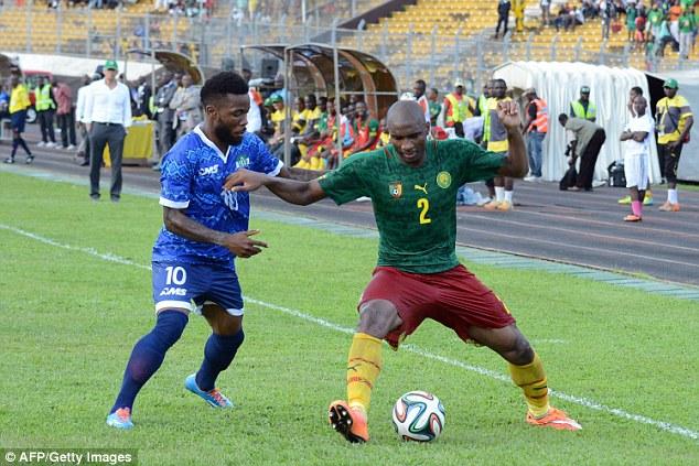 Sierra Leone defender Dumbuya eyes return after Achilles surgery